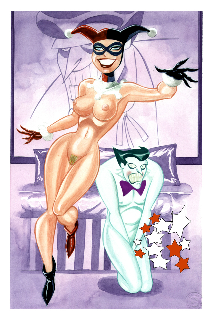 harley quinn and joker hentai Marionette five nights at freddys