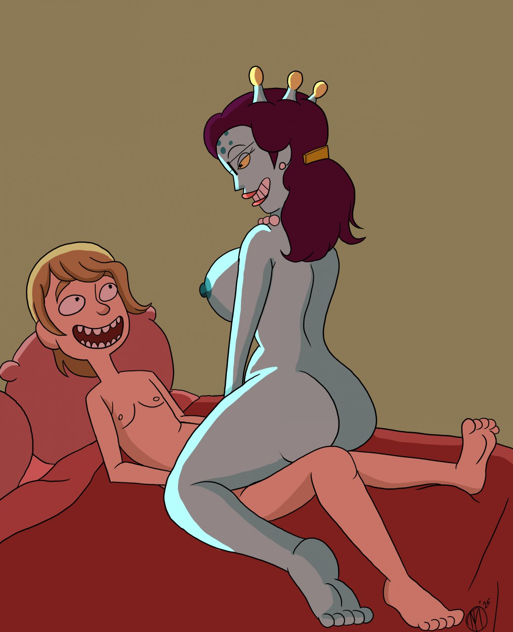 giantess summer and rick morty Rick and morty interstellar demon