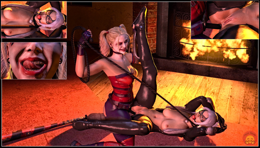 harley butt crack double quinn Witcher 3 hearts of stone sex