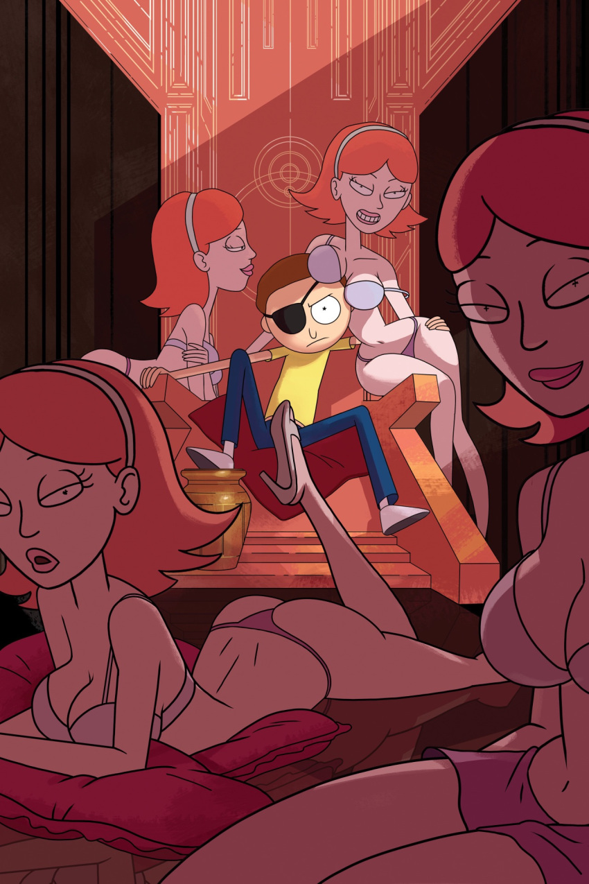 from rick jessica morty and Susan and mary test nude