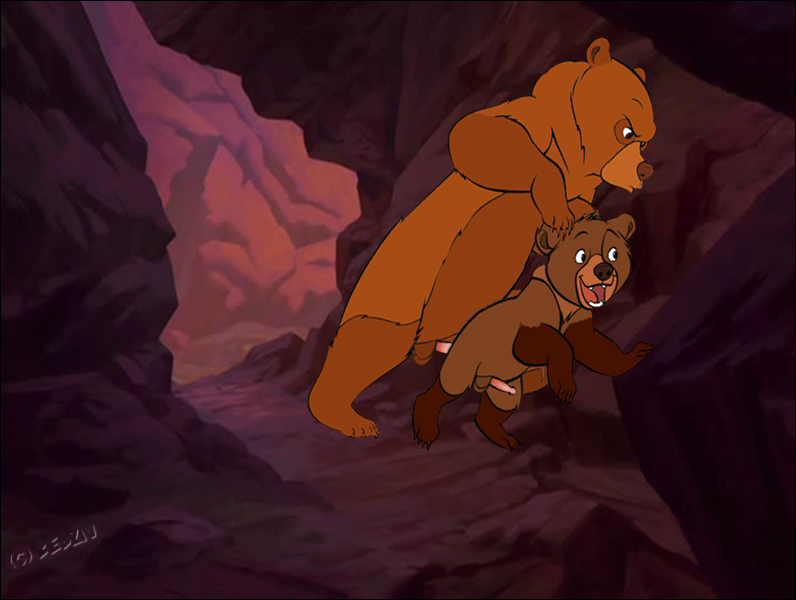 tuke and rutt brother bear Beast boy and raven naked