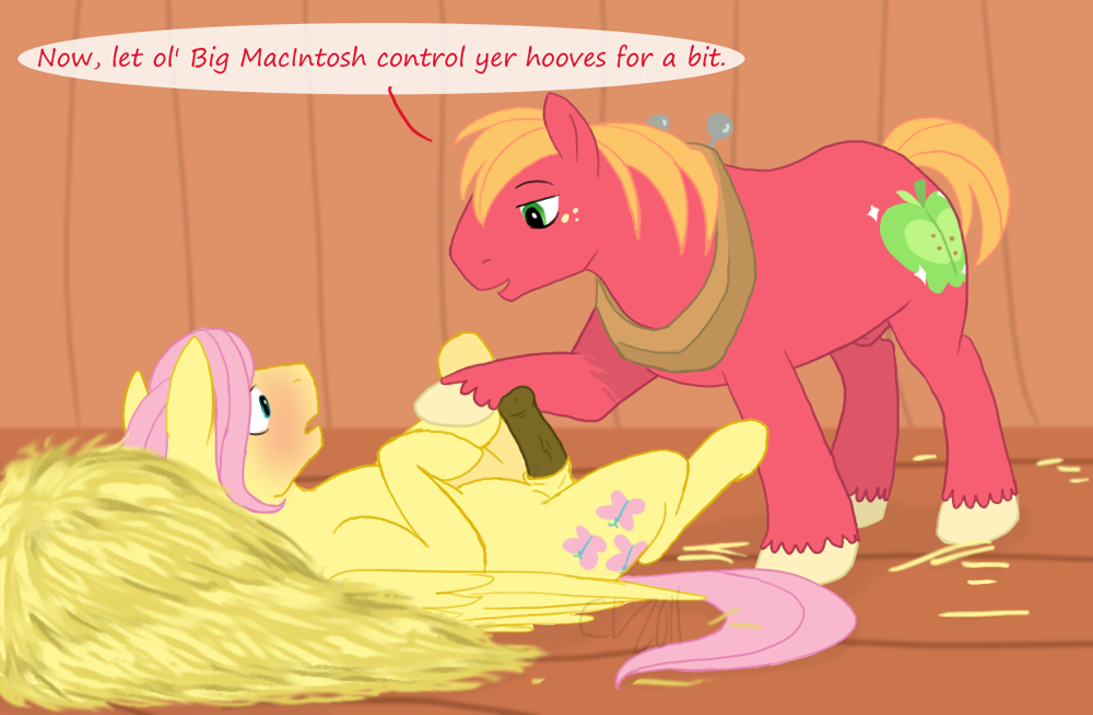 mac and big mlp fluttershy Male info chan x reader