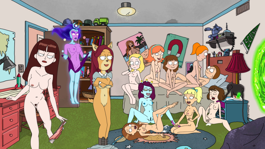 rick and jessica morty nude Frankie the frog meet the robinsons